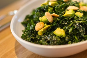 Sweet Kale Avocado Salad