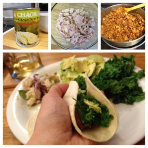low sodium pulled jackfruit tacos